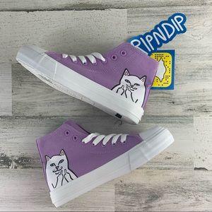 RIPNDIP Lord Nemal NWT Cat Lavender High Tops 5